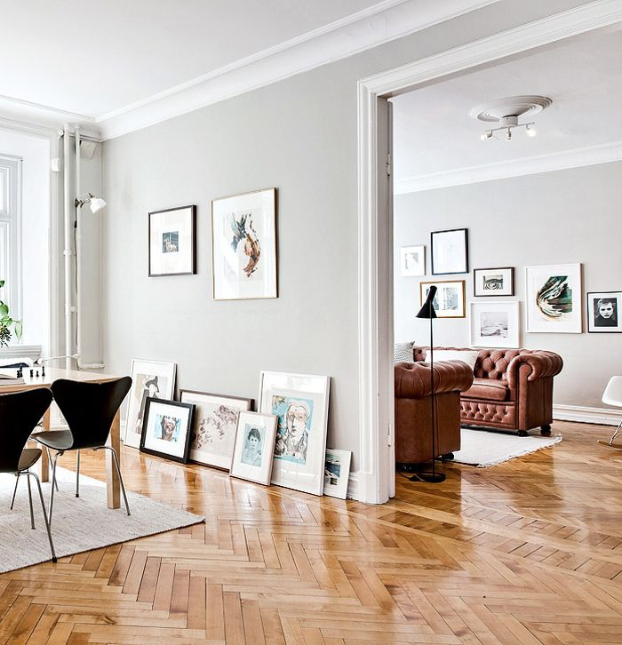 Contemporary Wood Furniture Décor Accents Or Warm Floors Can Draw Out The Undertones Of Gray And Help Make E Feel More Inviting